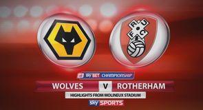 Wolves 5-0 Rotherham
