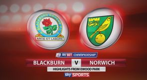 Blackburn 1-2 Norwich