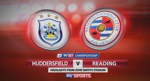 Huddersfield 3-0 Reading