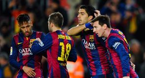 Barcelona v Villarreal - Copa del Rey first leg