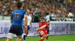 Wales down France in Paris