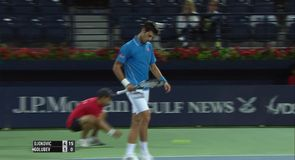 Djokovic v Golubev – Shot of the day