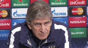 Pellegrini ready for Barcelona
