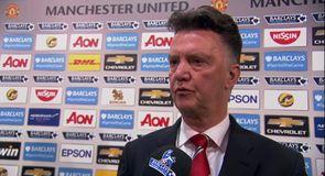 Van Gaal pleased with Rooney