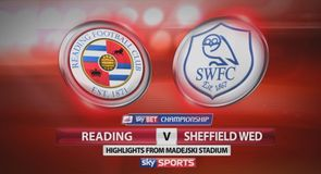 Reading 2-0 Sheff Wed