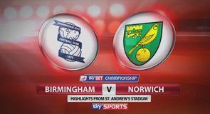 Birmingham 0-0 Norwich