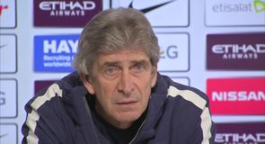 Pellegrini admits City advantage