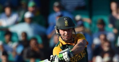 World Cup: AB de Villiers scores quickest-ever 150 as South Africa embarrass West Indies