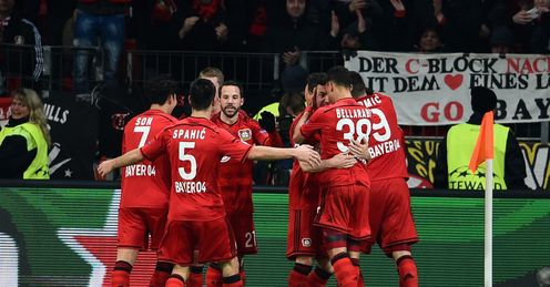 Bayer hold edge over Atletico
