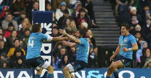 Scotland stunned by Italy