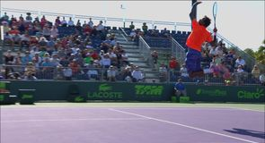 Gael Monfils showboat fail!