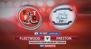 Fleetwood 1-1 Preston