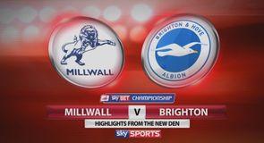Millwall 0-0 Brighton