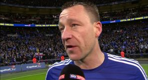 Terry - We're deserved winners