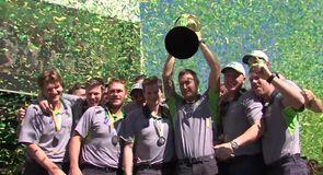 Australia's celebrations continue