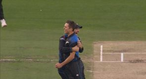 Big wicket for New Zealand