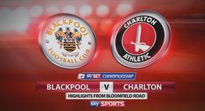 Blackpool 0-3 Charlton