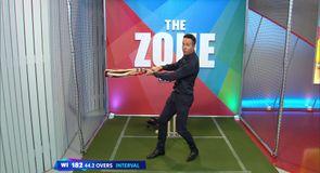 Vaughan: Gayle's innings 'strange'