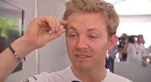 Rosberg's secret to dealing with sweat