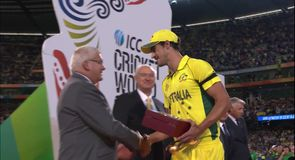 Starc named man of the tournament