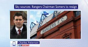 Rangers chairman Somers to resign