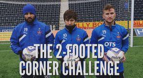 2-Footed Corner Challenge - Kilmarnock