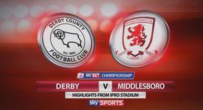 Derby 0-1 Middlesbrough