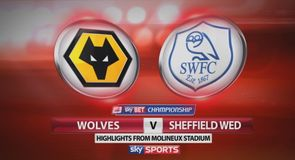 Wolves 3-0 Sheffield Wednesday