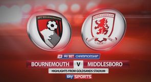 Bournemouth 3-0 Middlesbrough