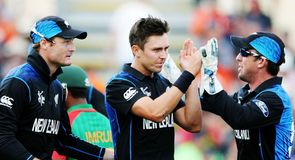 New Zealand squad return home