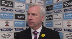 Pardew praises team performance
