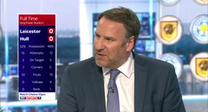 Merson on Leicester 0-0 Hull