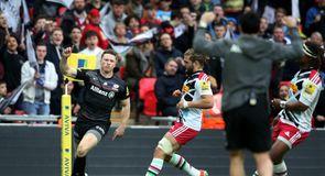 Sarries smash Quins at Wembley