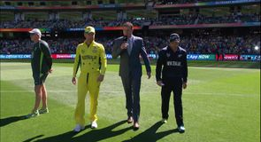 The toss: Australia v New Zealand
