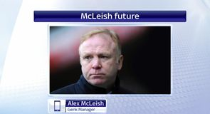 McLeish set to leave Genk