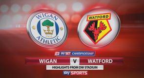 Wigan 0-2 Watford
