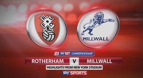 Rotherham 2-1 Millwall