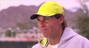 Nadal prepares for Wimbledon