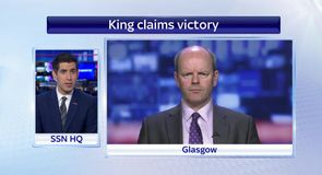 King claims Rangers victory
