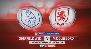 Sheffield Wednesday 2-0 Middlesbrough