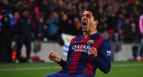 Suarez scores Barca winner