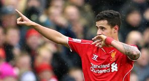 Coutinho scores screamer in Liverpool win