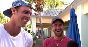 Querrey teased by Johnson