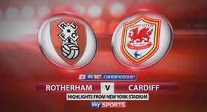 Rotherham 1-3 Cardiff
