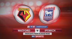 Watford 0-1 Ipswich