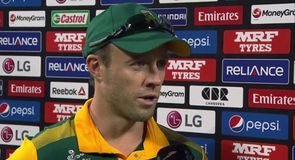 De Villiers delighted with win