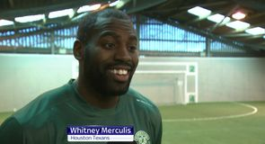 Hibernian welcome NFL star