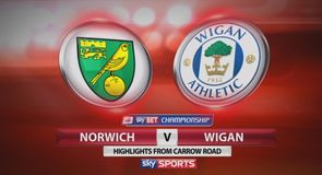 Norwich 0-1 Wigan