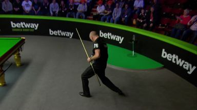 Exciting finish for Ebdon