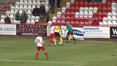 Daggers player accused of biting opponent